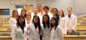 Third year student attend orientation workshop at the Clinical Academic Campus at Kelowna General Hospital