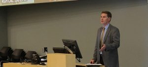 Dr. Steve Pinney kicks of the Master Teacher Certificate Program at the Clinical Academic Campus