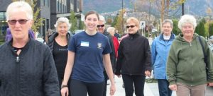 Faculty and students take steps to create healthy lives for seniors