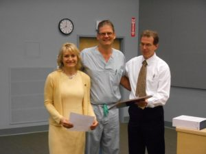 Dr. Kluftinger Awarded KGH Surgery Teaching Award