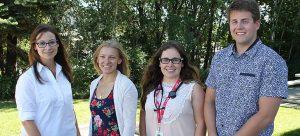 South Okanagan family medicine residents (left to right): Jacqueline Bourdeaux, JoyAnne Krupa, Rebecca Psutka, and Travis Thompson.