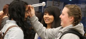 Students hit the road to recruit future healthcare professionals