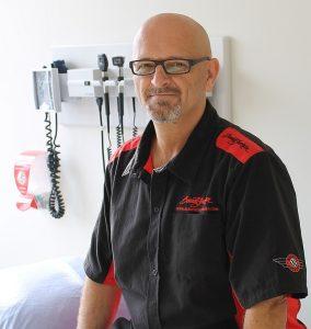 Volunteer Patient – Matt Scaife